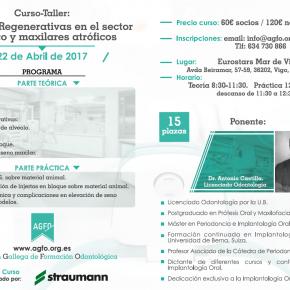 TERAPIAS REGENERATIVAS EN EL SECTOR ESTÉTICO Y MAXILARES ATRÓFICOS. 22 DE ABRIL DE 2017.