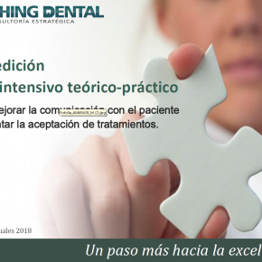 CURSO COACHING DENTAL. 25 Y 26 DE ENERO DE 2019