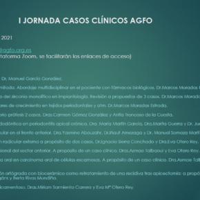 I JORNADA CASOS CLÍNICOS AGFO. 27 DE FEBRERO DE 2021.